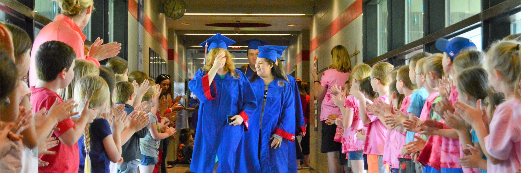 Class of 2016 Revisits Elementary Schools