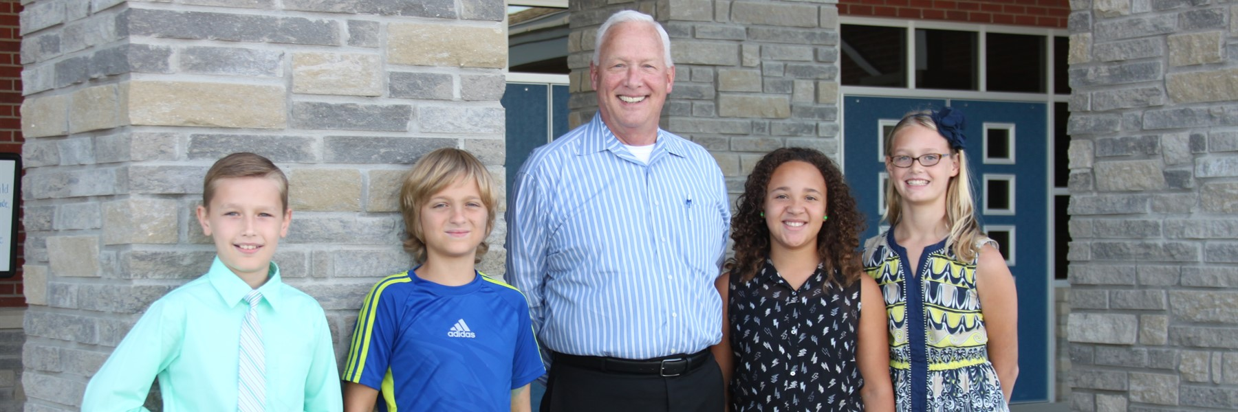 Mayor conducts Student Council interviews at Lemons Mill