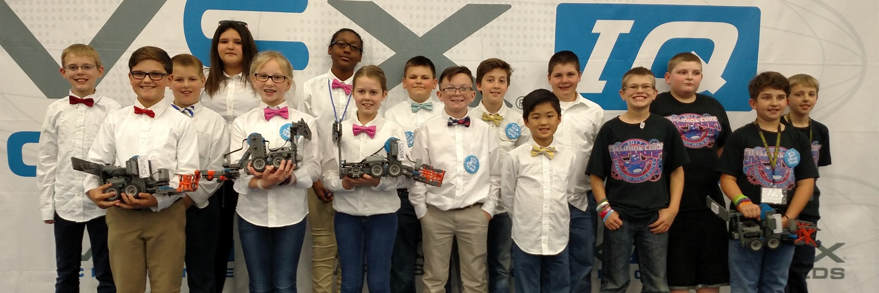 Teams from Northern and Stamping Ground compete at VEX Worlds.