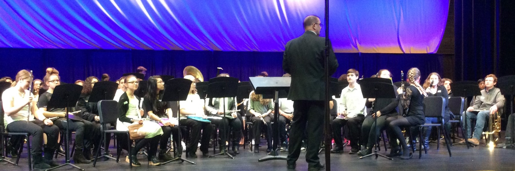 GMS 7th & 8th grade band receives DIstinguished rating at KMEA assessment  for the 6th year in a row.