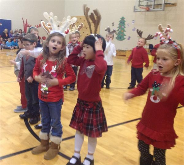 Holiday Program Featuring First Grade and the Performing Morgans